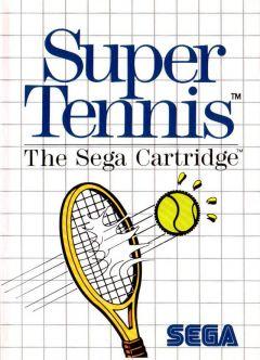 Jaquette de Super Tennis Master System