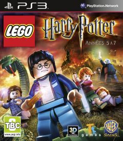 Jaquette de LEGO Harry Potter Années 5 à 7 PlayStation 3