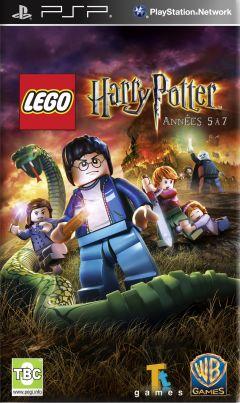 Jaquette de LEGO Harry Potter Années 5 à 7 PSP