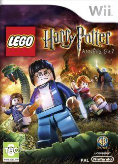 Jaquette de LEGO Harry Potter Années 5 à 7 Wii