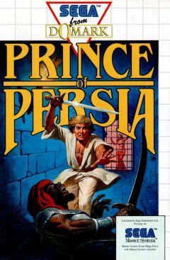 Jaquette de Prince of Persia (original) Master System