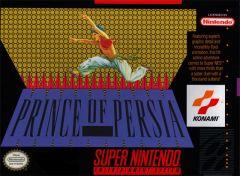 Jaquette de Prince of Persia (original) Super NES