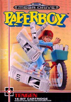 Jaquette de Paperboy Mega Drive