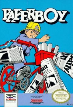Jaquette de Paperboy NES