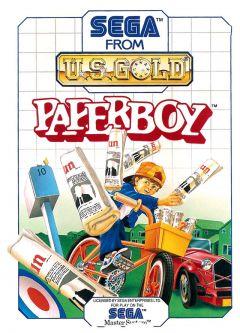 Jaquette de Paperboy Master System