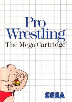 Jaquette de Pro Wrestling Master System