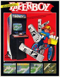 Jaquette de Paperboy Arcade