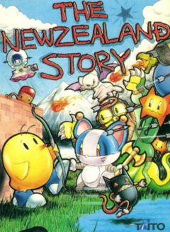 Jaquette de The New Zealand Story Amiga