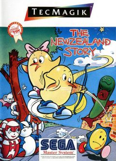 Jaquette de The New Zealand Story Master System