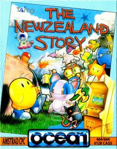 Jaquette de The New Zealand Story Amstrad CPC