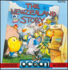 Jaquette de The New Zealand Story Commodore 64