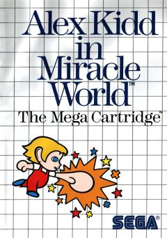 Jaquette de Alex Kidd In the Miracle World Master System