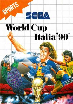 Jaquette de World Cup Italia' 90 Master System