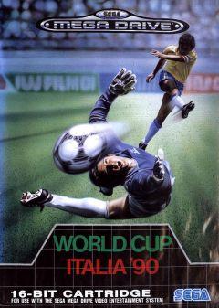 Jaquette de World Cup Italia' 90 Megadrive