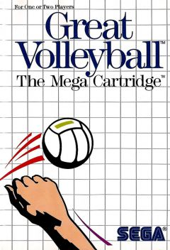 Jaquette de Great Volleyball Master System