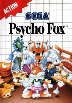 Jaquette de Psycho Fox Master System