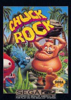 Jaquette de Chuck Rock MegaCD