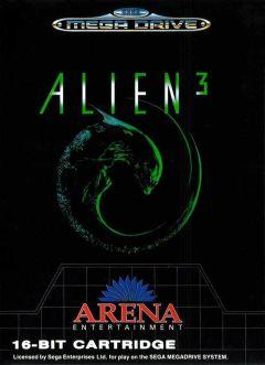 Jaquette de Alien 3 Megadrive