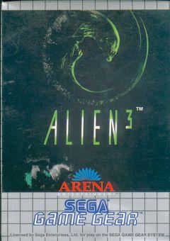 Jaquette de Alien 3 GameGear