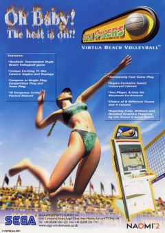 Jaquette de Beach Spikers Arcade