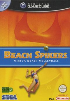 Jaquette de Beach Spikers GameCube