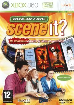 Jaquette de Scene It ? Box Office Xbox 360