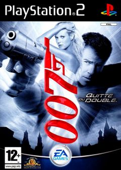Jaquette de James Bond 007 : Quitte ou Double PlayStation 2