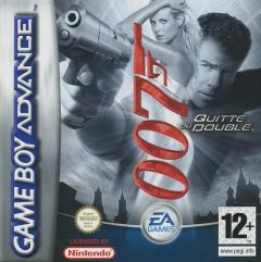 Jaquette de James Bond 007 : Quitte ou Double Game Boy Advance