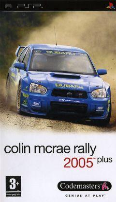 Jaquette de Colin McRae Rally 2005 PSP