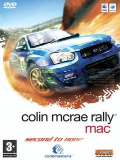 Jaquette de Colin McRae Rally 2005 Mac