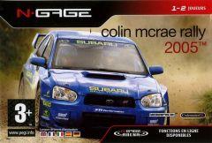 Jaquette de Colin McRae Rally 2005 N-Gage