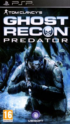 Jaquette de Tom Clancy's Ghost Recon : Predator PSP
