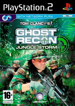 Jaquette de Tom Clancy's Ghost Recon : Jungle Storm PlayStation 2