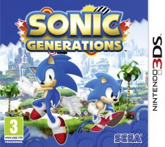 Jaquette de Sonic Generations Nintendo 3DS
