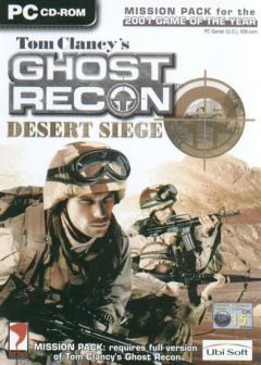 Jaquette de Tom Clancy's Ghost Recon : Desert Siege PC