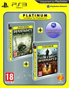 Jaquette de Resistance Greatest Hits Dual Pack PlayStation 3