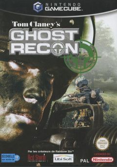 Jaquette de Tom Clancy's Ghost Recon GameCube