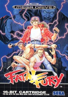 Jaquette de Fatal Fury : King of Fighters Megadrive
