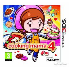 Jaquette de Cooking Mama 4 Nintendo 3DS