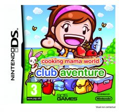 Jaquette de Cooking Mama World : Club Aventure DS