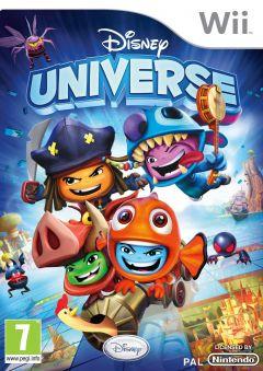 Jaquette de Disney Universe Wii