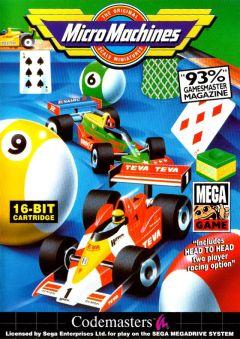 Jaquette de Micro Machines Mega Drive