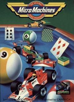 Jaquette de Micro Machines NES
