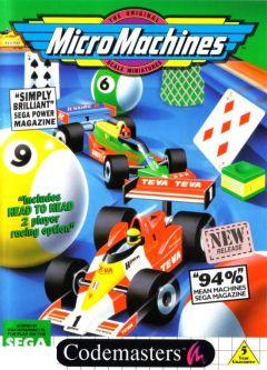 Jaquette de Micro Machines Master System