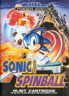 Jaquette de Sonic Spinball Megadrive