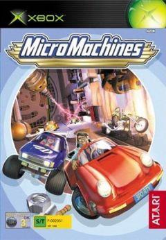 Jaquette de Micro Machines Xbox