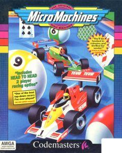 Jaquette de Micro Machines Amiga
