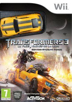 Jaquette de Transformers 3 : La Face Cachée de la Lune Wii