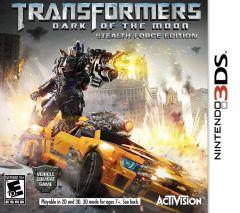 Jaquette de Transformers 3 : La Face Cachée de la Lune Nintendo 3DS