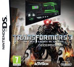 Jaquette de Transformers 3 : La Face Cachée de la Lune - édition Decepticons DS